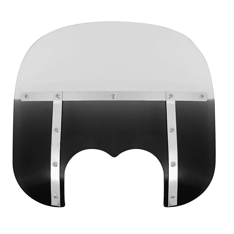 13in. Memphis Fats Windshield (Dual Cutout)