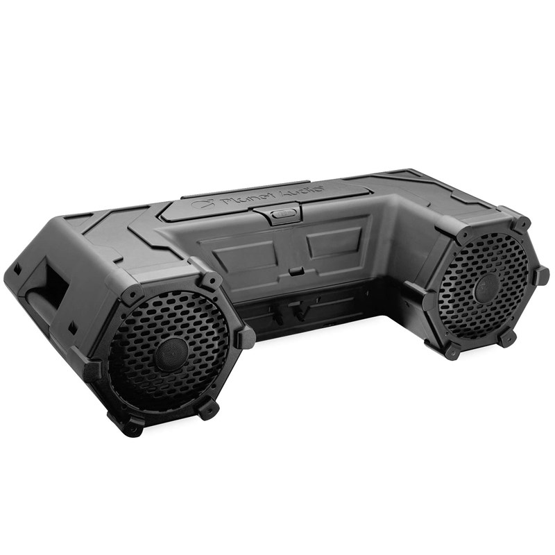 8in. Audio Stystem with LED Light Bar and Storage System