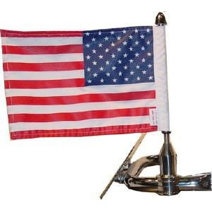 Sport Rack Square Mount With USA Flag