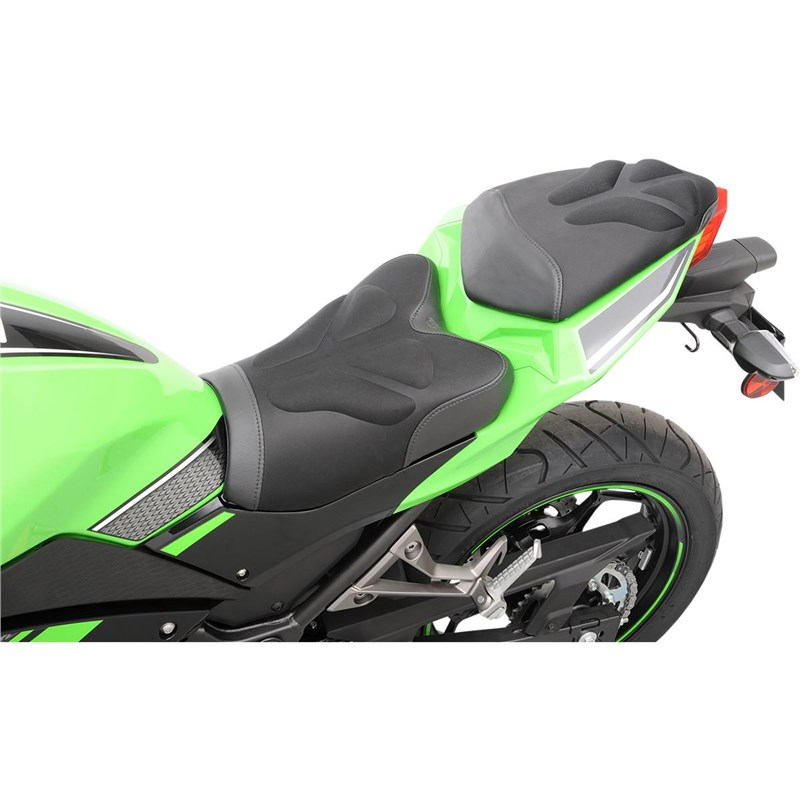 Gel-Channel Tech One-Piece Solo Seat with Rear Cover