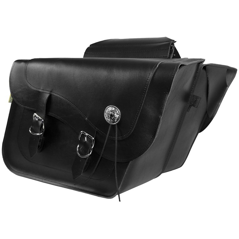 Deluxe Slant and Compact Slant Saddlebags