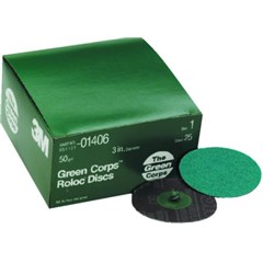 2in. Green Corps Roloc Discs