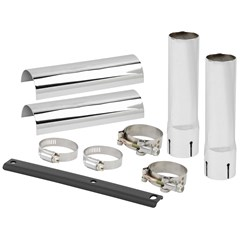 Down-N-Out Muffler and Heat Shield Extension Kits