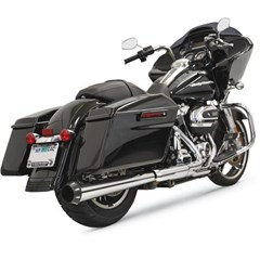 Crossover Eliminator with 4in. DNT Slip-On Muffler