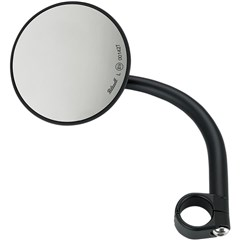 4in. Round Utility Mirror with Clamp On Mount for 1in. Bar