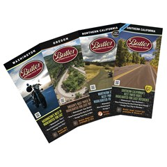 Pacific Pack Motorcycle Maps