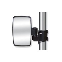 Round Clamp Side-View Mirrors