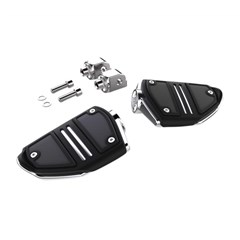 Twin Rail Footrests with M-Eight Softail Driver Mounts