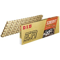 520 ERVT Racing Chain - 120 Links - Gold-Black
