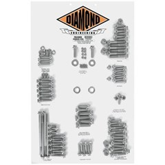 12-Point Polished Stainless Steel Custom Transformation Kits