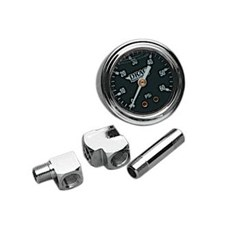 1 3/4in. Deluxe Liquid-Filled Oil Gauge Kit