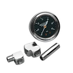 1 3/4in. Deluxe Liquid-Filled Oil Pressure Gauge Kit
