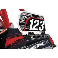 Dragonskins Bed Rail Number Plate KIt