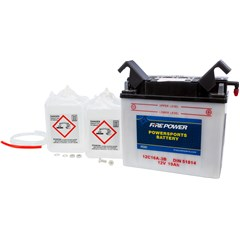 Conventional 12V Standard Battery with Acid Pack