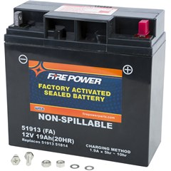 Factory Activated Maintenance Free Sealed Battery
