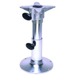 2 7/8in. Diameter Adjustable Height Smooth Stanchion Seat Base