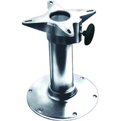 2 7/8in. Diameter Fixed Height Smooth Stanchion Seat Bases