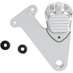 2-Piston Custom B Calipers - Classic Clear Anodized