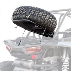 Spare Tire Rack with Lift Supports