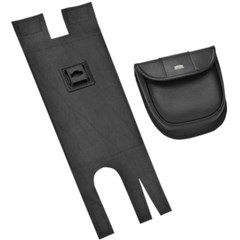 EZ Mount Pouch for Saddlebags without Guardrails