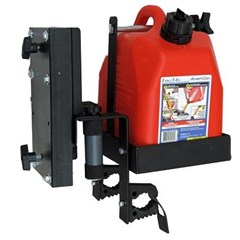 Auxilary Fuel Can, Chainsaw and Tool Holder