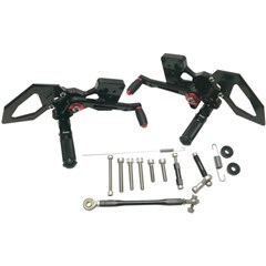 Fully Adjustable Rearsets