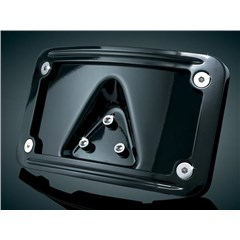 Curved Laydown License Plate Mount