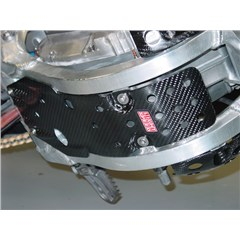 Carbon Fiber Glide Plate with Case Guard