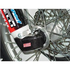 Carbon Fiber Right Leg Lug Guards