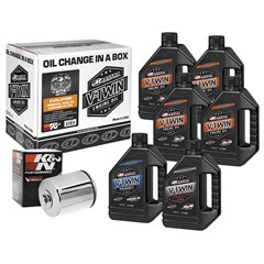 Evolution Mineral Oil Filter Kit with Chrome Filter - 20W50