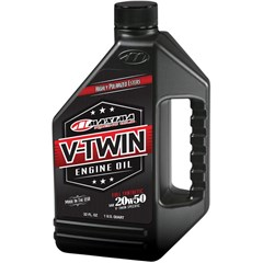 Full Synthetic V-Twin Engine Oil - 20W50
