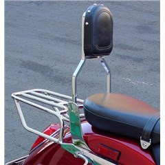 Standard Sissy Bar with Plain Pad