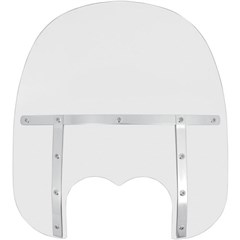 17in. Memphis Fats Windshield (Dual Cutout)