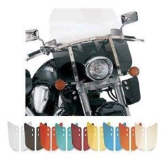 Replacement Plastic for Demon Bar Mount Windshield (7in.Cutout)