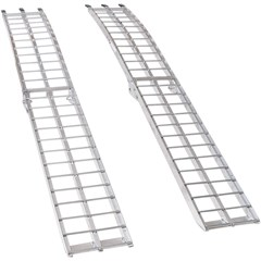 Arched Aluminum Folding Ramp
