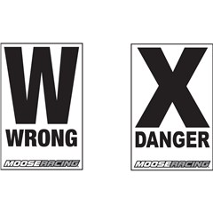 Danger/Wrong Way