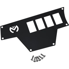 Large 4 Switch Dash Plate