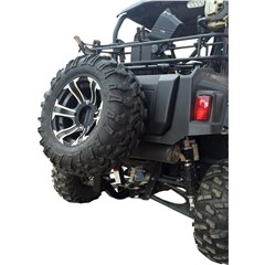 Receiver Hitch Spare Tire Mount