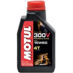 300V 4T Competition Offroad Synthetic Oil - 15W60