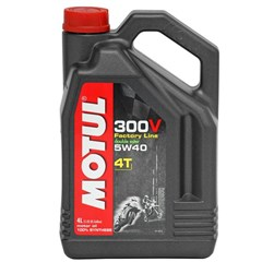 300V 4T Competition Offroad Synthetic Oil - 5W40