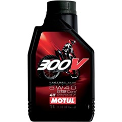 300V Synthetic Motor Oil - 5W40