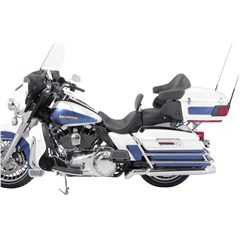 1-Piece Lowdown Touring Seat with Driver Backrest