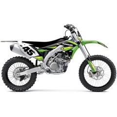 2016 AMPED Kawasaki Graphics Kit
