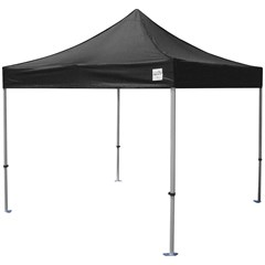Black Powder-Coated Steel Canopy Frame with 600 Denier Top