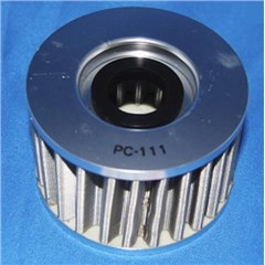 FLO Spin On Stainless Steel Oil Filter