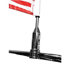 9in. Folding Flag Mount with 6in. x 9in. Flag