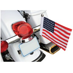 Flag Mount License Plate - 10in. X 15in. Flag