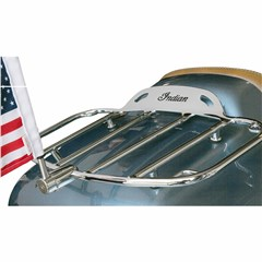Flag Mount with USA Flag for .51in. Horizontal Round Bar