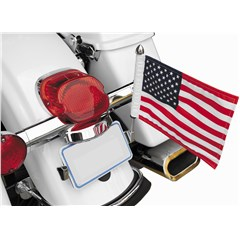 License Plate Flag Mount with 6in. x 9in. USA Flag