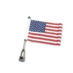 Saddlebag Bar Flag Mount with 10in. x 15in. flag